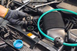 Чистка радиатора автомобиля в СТО Куратор